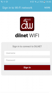 dilnet-android-signin